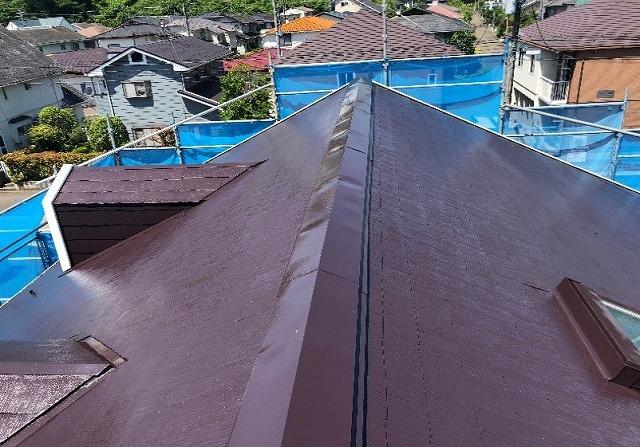 施工後 屋根全体