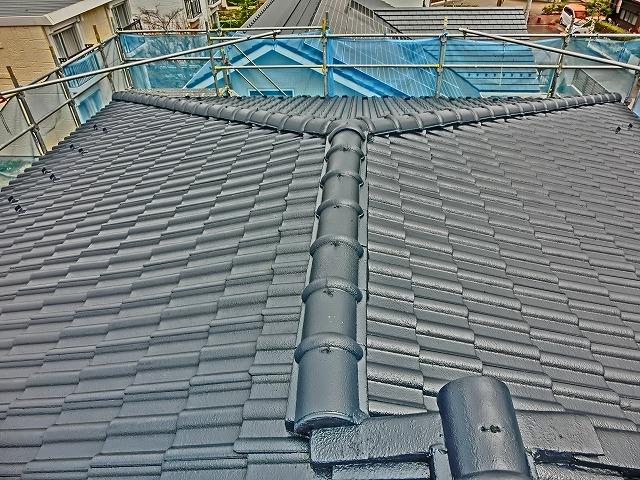 完工屋根全体