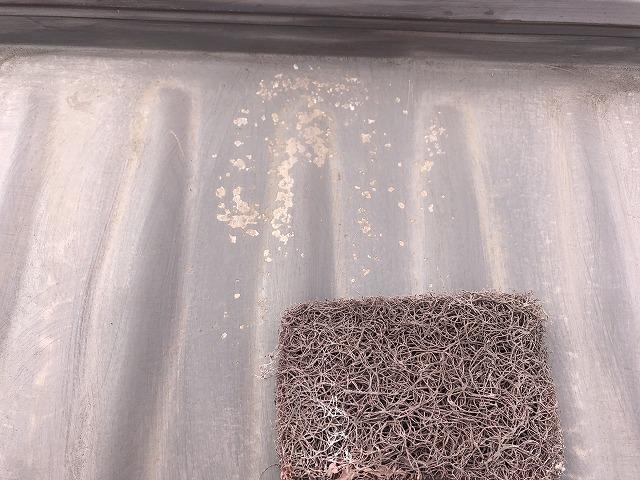 ガルバニウム鋼板の錆をケレン