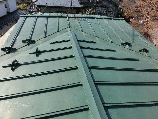 施工前の瓦棒トタン屋根