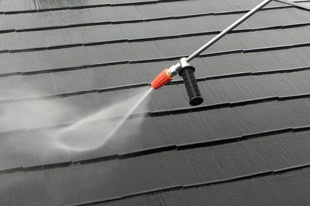 トルネード高圧屋根洗浄