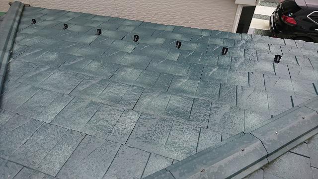 屋根カバー工法3年点検