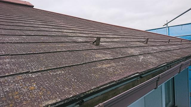 スレート屋根の劣化②