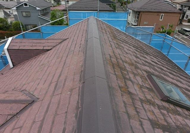 施工前 屋根全体