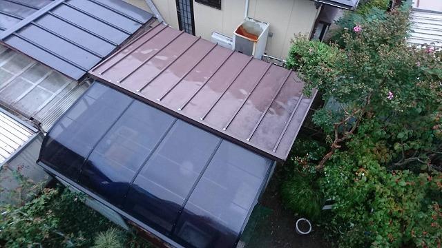 物置の屋根