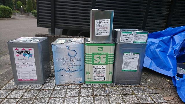 仙台市泉区で屋根と外壁一部塗装 雨の日の塗装は?
